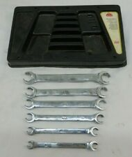 Mac Tools 6pc Metric Double End Flare Nut Wrench Set 9mm-21mm USA