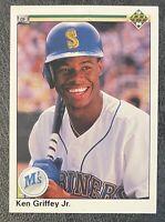 1990 Upper Deck Ken Griffey Jr. Seattle Mariners #156 Baseball ERROR Card - VG