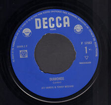 "JET HARRIS & TONY MEEHAN – Diamonds (1963 VINYL SINGLE 7"" HOLLAND)"