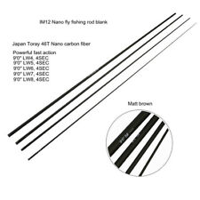 Aventik IM12 Nano Fly Fishing Rod Blanks 4SEC 9FT 4/5/6/7/8/9wt Fast Action