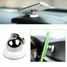 2 x Universal Ball Dock Magnetic Car Mount Holder for Apple iPhone 4 5 6 6s Plus