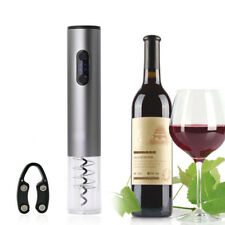 Electric Automatic Corkscrew Wine Opener with Foil Cutter