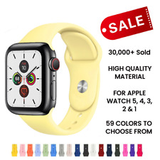 Strap for apple watch band 38mm 42 mm iwatch band 44mm 40mm Sport silicone belt
