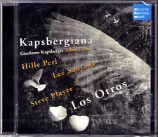 Hille PERL & LOS OTROS KAPSBERGIANA Giovanni Kapsberger 1580-1651 Libro Tirzo CD