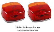 Hella Rückleuchten SET universal für Anhänger Baumaschinen Traktor 0725S