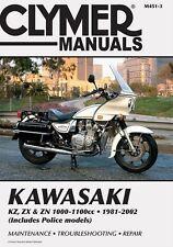 CLYMER SERVICE REPAIR MANUAL KAWASAKI KZ1000 REPLICA & KZ1100 SPECTRE 1982-1983