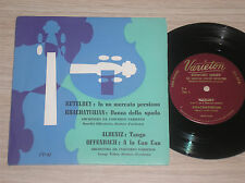 "KETELBEY, KHACHATURIAN, ALBENIZ, OFFENBACH - 7"" 33 GIRI ITALY"