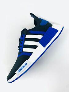 New Adidas NMD_R1 Primeblue 'Black Royal Blue' GX8373 Boost Shoes Men Sizes