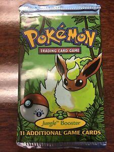 Pokemon Jungle Booster Pack 1st edition! Rare!