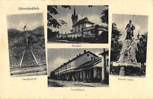 Sátoraljaújhely Mehrbildkarte Teilansichten gl1944 149.805