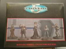 Babylon 5 Harlequin Miniature pewter figures Box B5202