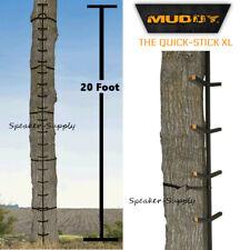 Muddy Outdoors The Quick-Stick Xl 20' Tree Stand Climbing Sticks Deer Mcs0120