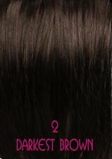 Thick 170G Double Weft Clip In Remy Human Hair Extensions Full Head As Russian