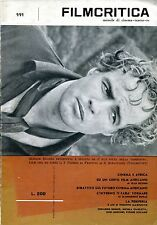 FILMCRITICA N. 111  ANNO XII LUGLIO 1961