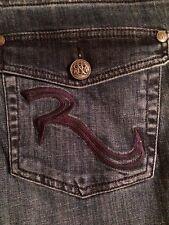 Rock & Republic Kassandra Boot Cut Roxy Flap Pocket Women's Jeans Sz 12 New!