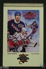 MARK MESSIER 1993 Legends Artwork Postcard Cover H37 LSM 11/93 _ MAIL WORLDWIDE