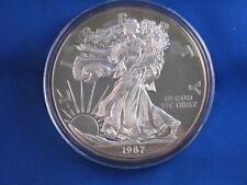 1987 Giant Commemorative Silver Eagle .999 Silver 8 Ounce B3979