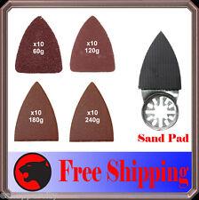 41 Finger Sanding Kit Oscillating MultiTool Pad Craftsman Makita Ridgid Ryobi