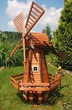 *Windmühle holländische Art 1,6m kugelgelagert, impräg. für den Garten, H2