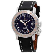 Glycine Airman 18 GMT Automatic Black Dial Men's Watch GL0230