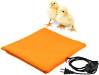 Chicken Heated Pad W/ Cozy Fleece Cover For Chick Brooder Coop Heater Cage Heat