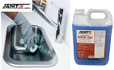 More details for janit-x rinse aid 5 litre, concentrated for business use canteen, nursing homes