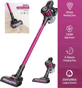 2021 ONSON HEPA Cordless Vacuum Cleaner-D18E Pro Handheld Stick 2 IN 1 LED Brush