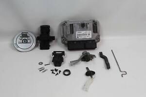 BMW R1200GS 10-12 OEM Ignition Switch Gas Cap Seat Lock Key ECU ECM