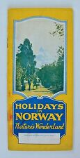Holidays in Norway: Nature's Wonderland Illustrated Travel Guide