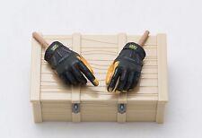 1/6 Easy Simple SFOD-D Assault Squadron Leader Gloved Hand Set Gloves