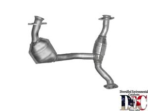 Exhaust Pipe And Converter   DEC Catalytic Converters   FOR20445