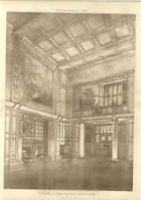 1908 Hall Interior Designed By Herbert Richter