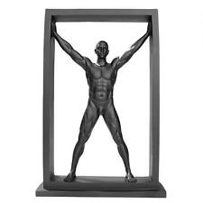 """13"""" Contemporary Modern Male Man Nude Naked Sculpture Statue"""