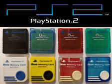 Official Genuine OEM Sony PlayStation 2 PS2 Memory Card 8MB