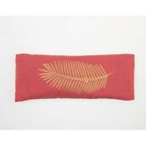 Aromatherapy Yoga Eye Pillow with Lavender-Coral