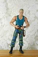 "AVATAR COL. MILES QUARITCH LOOSE ACTION FIGURE 6"" MILITARY 2009 MATTEL"