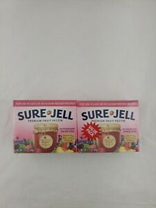Sure-Jell Premium Fruit Pectin For Less Or No Sugar Needed Recipes Value Pack, 2