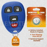 Keyless Entry Remote for 2005 2006 2007 2008 2009 2010 Chevrolet Cobalt Key Blue