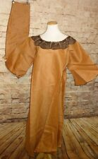 Rose Brown Kaftan Traditional Ethnic Clothing Women Suit African 2 PC Dress