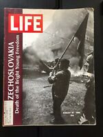 "Vintage LIFE Magazine August 30, 1968 ""Czechoslovakia"""