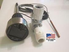 Automatic Garden Water Timer System w/ Soil Moisture Sensor + Solar 90º Valve