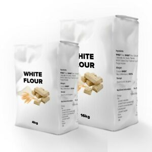 The Cake Decorating Co. Plain White Flour - Choose 4KG or 16KG