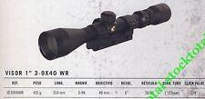 "VISOR TELESCOPICO GAMO SERIE SPORTER 1"" 3-9X40WR  VE39X40WR G"