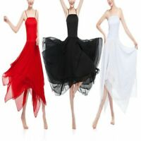 Contemporary Lyrical Dress Ballet Dance Costumes Adult Womens Chiffon Dancewear
