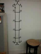 Plate rack wall 4 Plate Black New