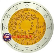 2 Euro Commémorative Pays-Bas 2015 - Drapeau Européen