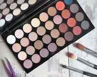 MAKEUP REVOLUTION Ultra 32 Shade Eyeshadow Palette FLAWLESS MATTE 2 32 PIECE
