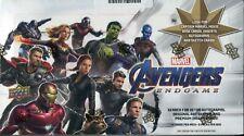 Marvel Avengers Endgame Factory Sealed Trading Card Hobby Box
