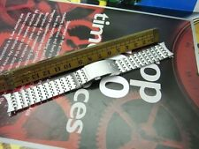 NEW OLD STOCK OMEGA 18MM SS SEAMASTER 1286 672 WATCH BAND