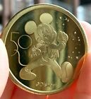 NEW Walt Disney World 50th Anniversary Commemorative Gold Coin Mickey Mouse